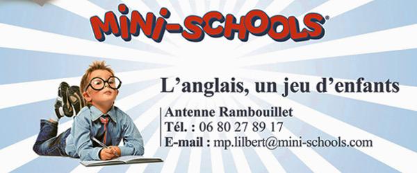 La Mini-Schools de Rambouillet vous propose un stage intensif d'anglais