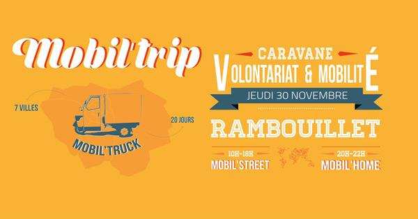 La caravane itinérante la Mobil'Trip fait étape à Rambouillet !