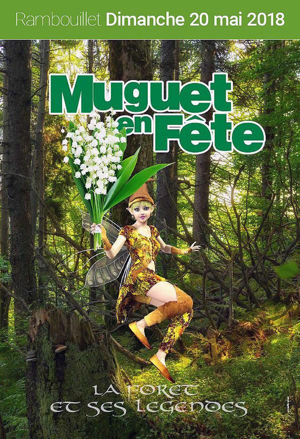 La 118ème Fête du Muguet à Rambouillet se déroulera le dimanche 20 mai 2018