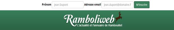 Inscrivez-vous gratuitement à la Newsletter de Ramboliweb.com