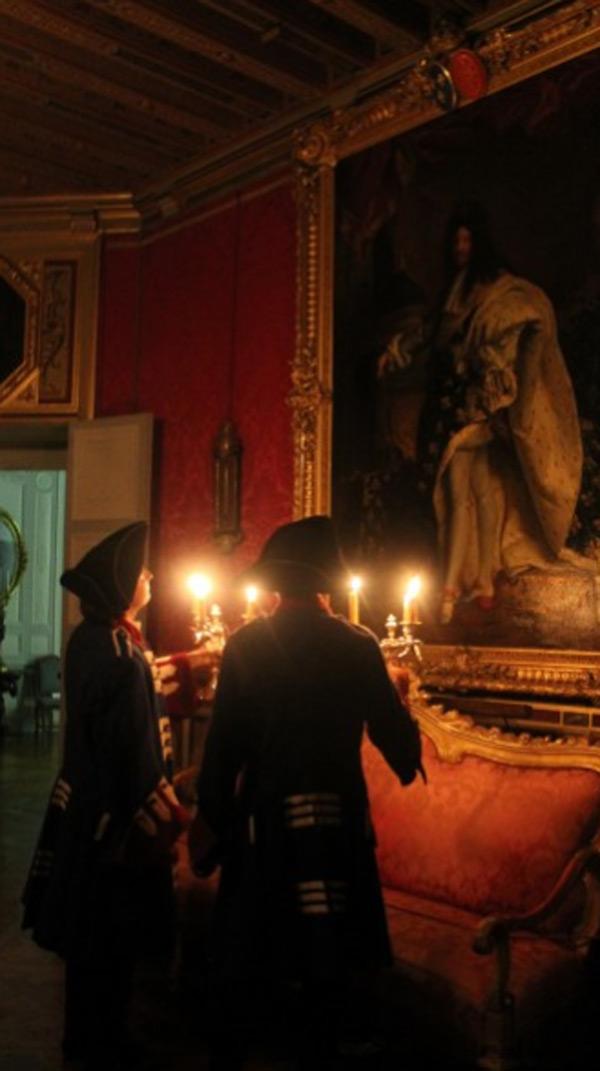 Visites guidées en nocturne au Château de Maintenon