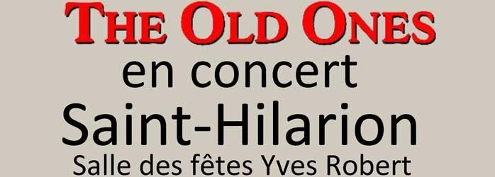 Actualités Rambouillet - The Old Ones en concert à Saint Hilarion le samedi 18 mai 2019