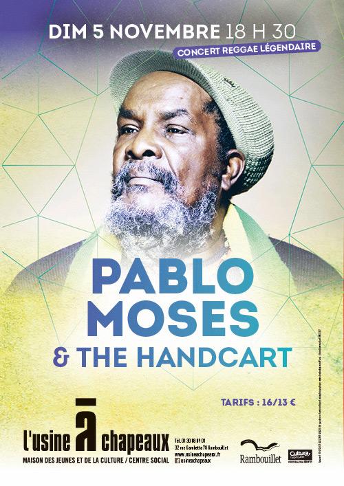 Pablo Moses & The Handcart en concert à Rambouillet