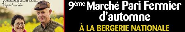 Actualités Rambouillet - Le Pari Fermier à la Bergerie Nationale de Rambouillet, c'est ce week-end !