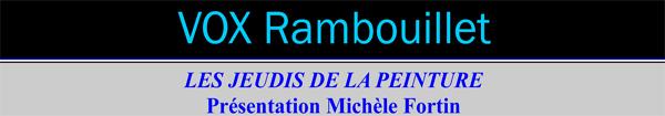 Actualités Rambouillet - Instants d'Art au Vox à Rambouillet jeudi 23 mars 2017 à 14h