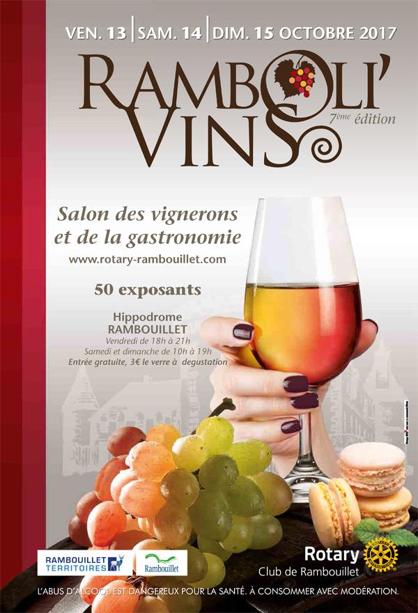 Le Ramboli'Vins, salon des vignerons et de la gastronomie à l'Hippodrome de Rambouillet