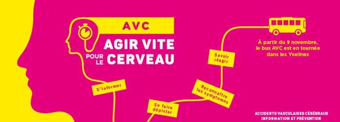 Actualités Rambouillet - Le Bus AVC sera à Rambouillet le mercredi 3 avril 2019