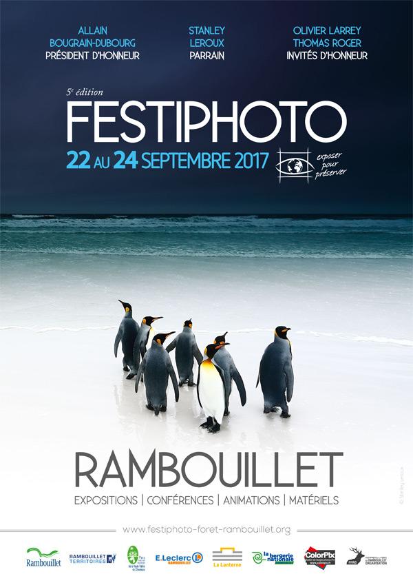 Le 5ème FESTIPHOTO de la forêt de Rambouillet se déroulera du 22 au 24 septembre 2017