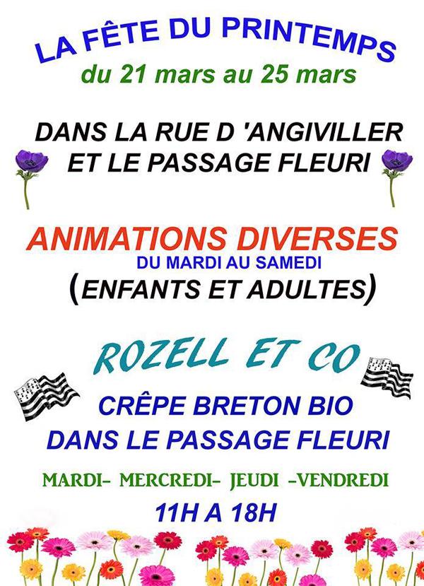 La Fête du printemps à Rambouillet du mardi 21 mars au samedi 25 mars 2017