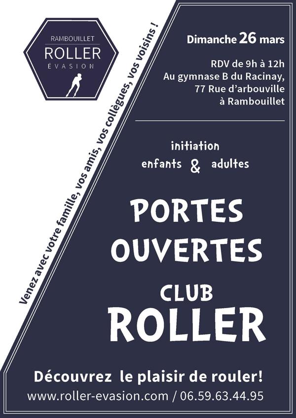Portes ouvertes au club Rambouillet Roller Evasion