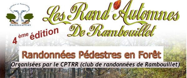 Les Rand'Automne de Rambouillet le dimanche 9 septembre 2018