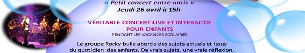 Actualités Rambouillet - Rocky Bulle, petit concert entre amis aux Prairiales à Epernon