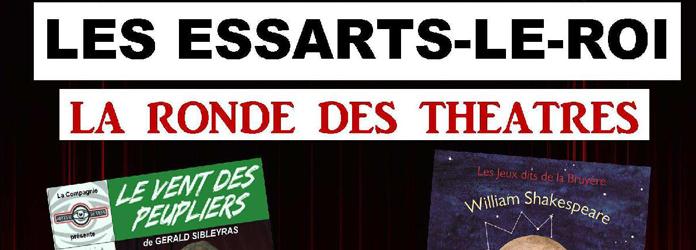 Actualités Rambouillet - La Ronde des Théâtres aux Essarts-le-Roi, du 15 au 17 mars 2019