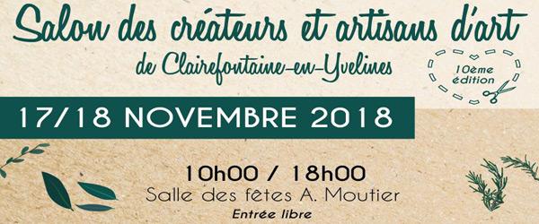 Actualités Rambouillet - Le salon des créateurs et artisans d'art de Clairefontaine-en-Yvelines