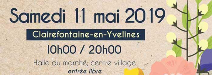 Actualités Rambouillet - Le salon des créateurs et artisans d'art de Clairefontaine-en-Yvelines le samedi 11 mai 2019