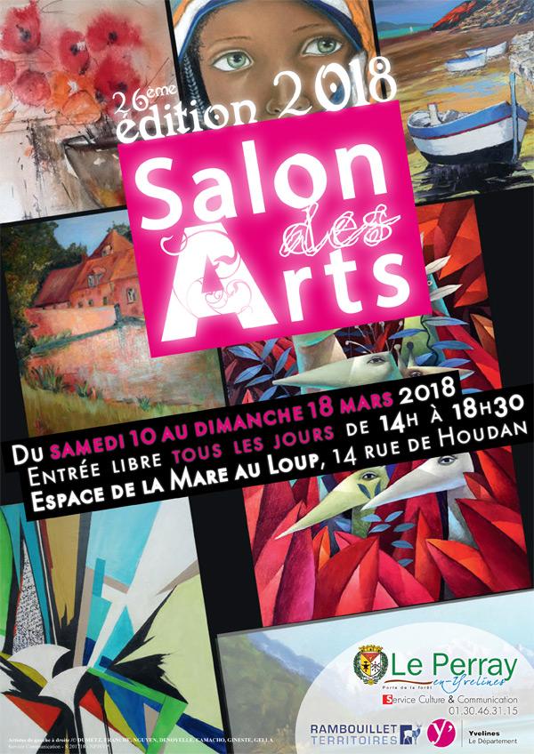 26ème édition du Salon des Arts du Perray-en-Yvelines
