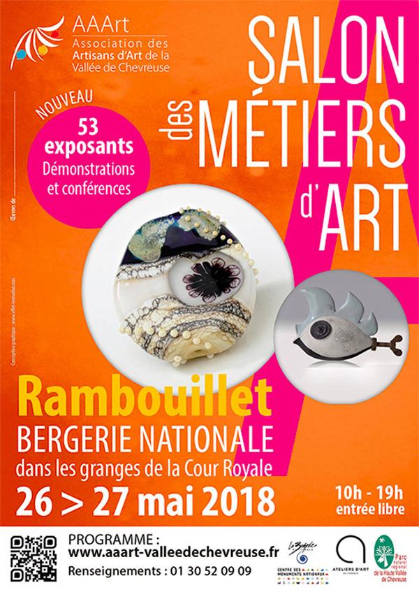 Le  Salon des Métiers d'Art à la Bergerie Nationale à Rambouillet
