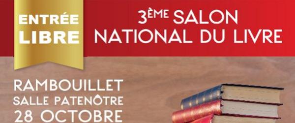 Actualités Rambouillet - 3ème Salon National du Livre Rambouillet Territoires, le 28 octobre 2018