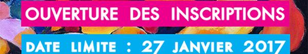 Salon des Arts du Perray en Yvelines : rappel ouverture des inscriptions