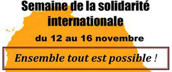 Actualités Rambouillet - La Semaine de la solidarité internationale 2018, au Lycée Bascan à Rambouillet
