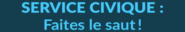 Actualités Rambouillet - Service civique : Faites le saut !