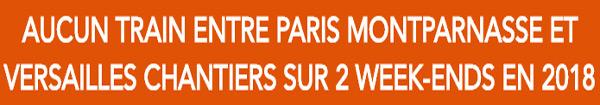 Actualités Rambouillet - Info SNCF : interruption des circulations entre Paris et Versailles Chantiers