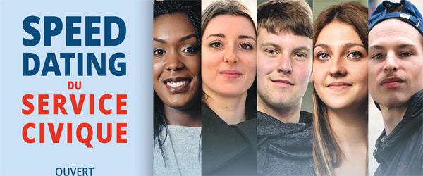 Actualités Rambouillet - Speed Dating du service civique à la Maison des Jeunes et de la Culture à Rambouillet