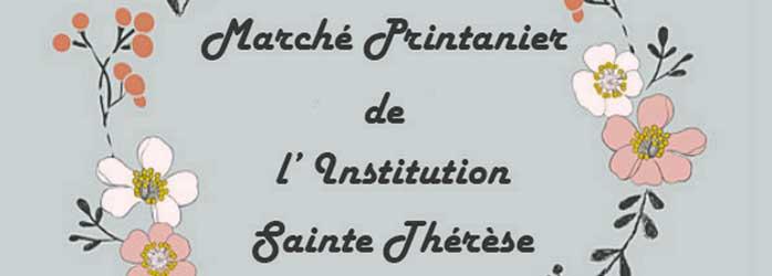 Actualités Rambouillet - Le Marché Printanier de l'institution Sainte Thérèse à Rambouillet
