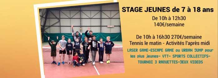 Actualités Rambouillet - La Clairière Rambouillet Tennis Club : stages de tennis d'été 2019