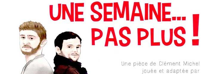 Actualités Rambouillet - Théâtre aux Essarts-le-Roi : une semaine … pas plus ! le samedi 1er juin 2019