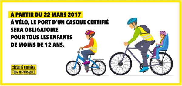 Rambouillet à vélo, le casque obligatoire pour les moins de 12 ans