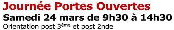 Journée Portes Ouvertes au Lycée Louis Bascan le samedi 24 mars 2018