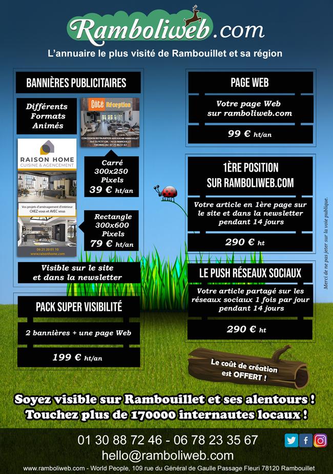 Annoncer sur Ramboliweb.com